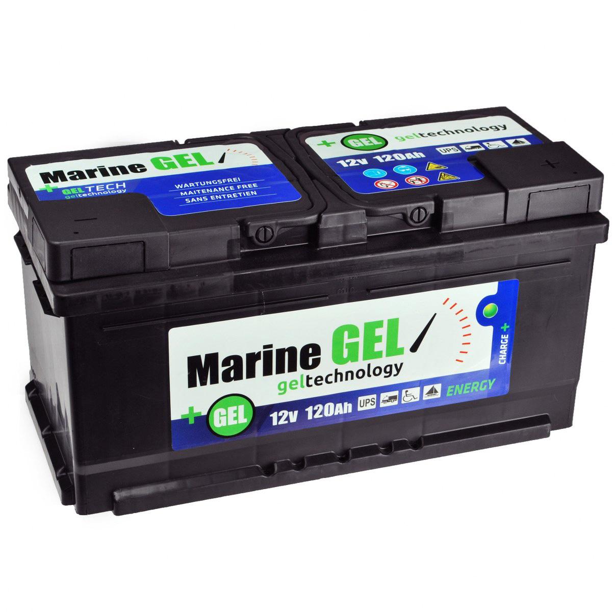gel batterie 120ah marine bootbatterie boot 12v. Black Bedroom Furniture Sets. Home Design Ideas